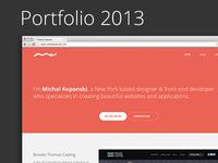 Michal Kopanski — Portfolio 2013