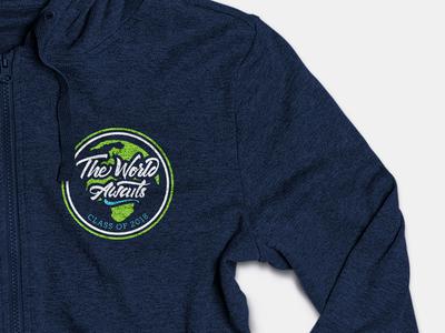 The Worlds Awaits, 2018 Class Logo