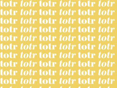 TOTR Brand Pattern