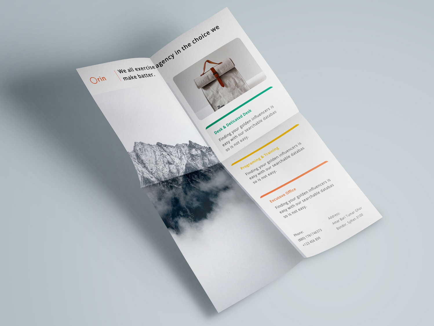 Corporate agency flyer template dribbble