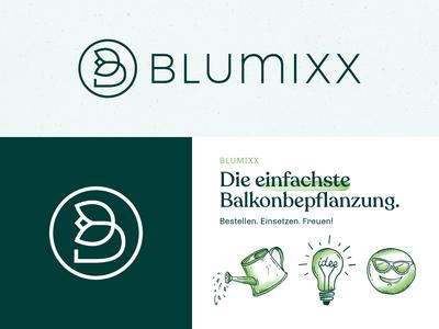 Blumixx Logo & Corporate Design
