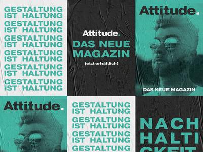 """""""Attitude"""" - Magazine Poster Series"""