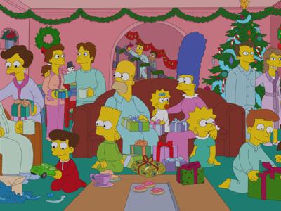 Simpsons illustration