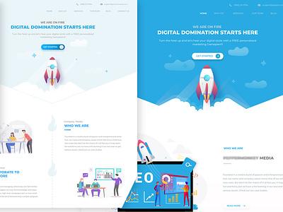 Homepages humaaans seo designbyfazal simple website stunning website design web ui web layout ux web designer webdesign