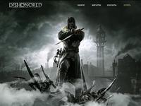 Dishonored Web Site Design
