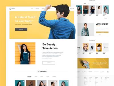 Spirit Fashion E-commerce Website