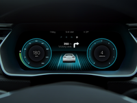 Tesla Dashboard User Interface