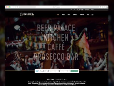 Brewhemia Landing Page