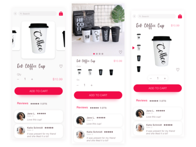 Product Page 3 Variants (Free UI Kit)