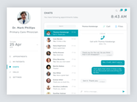 Telemedicine Doctor's Portal - Chats