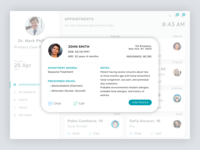 Telemedicine Doctor's Portal - Appointment Summary