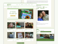 WordPress Theme - Garden Up Green