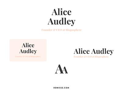 Logo System for Personal Website logotype mark branding design identity typography graphic design logo system logo branding web design