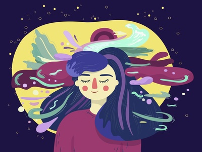 Dreaming or sleeping