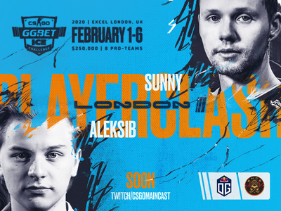 Aleksib vs Sunny  OG vs ENCE match announce