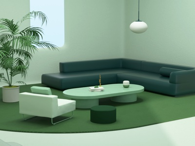 OUR HOME technology devices future home interior illustration motion graphics animation branding vector design graphic