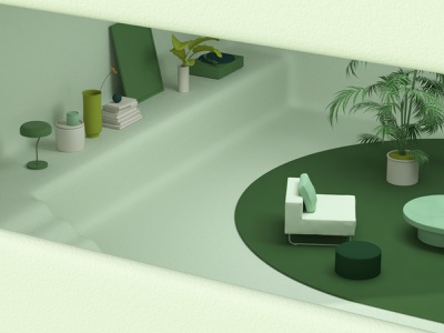 OUR HOME documentary future technology devices house home green branding graphic design illustration