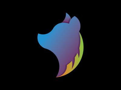 Dog & Feather Logo