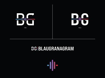 BG Rebrand sports logo rebrand