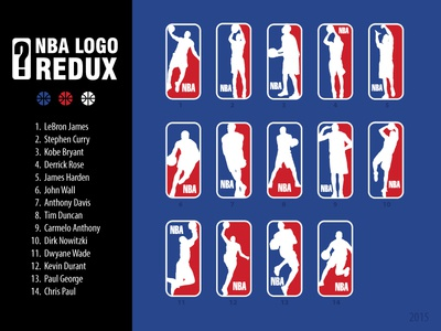 NBA Logo Redux 2015