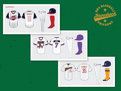 NBA x MLB Uniforms uniform baseball basketball nba mlb