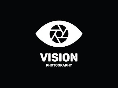 Vision Photography minimal logo