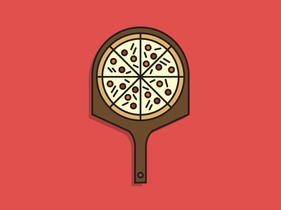 Fresh Pizza pizza icon food