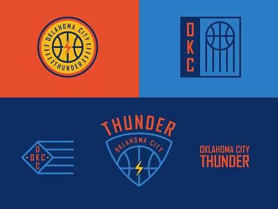 OKC Thunder logo nba okc