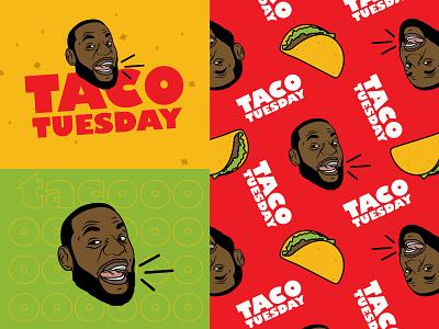 Taco Tuesday sports lebron food taco