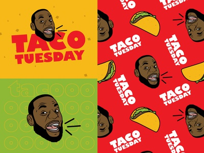 Taco Tuesday sports lebron food taco