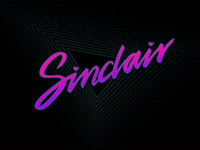 Sinclair Lettering
