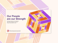 Art Direction and Illustration for Diversity Campaign