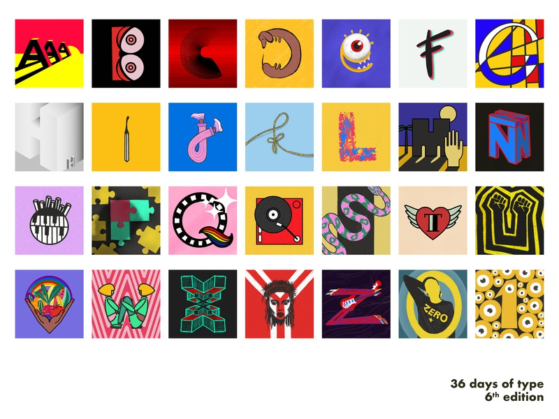 My 36 Days of Type! lettering graphic feminist rocknroll 36 days of type digital art collage vector typography art digital illustration design illustration