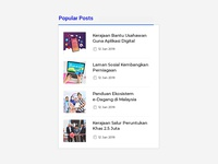 Popular Post UI   PUBN