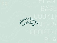 2019 Resolution - (More) Plant Based Cooking