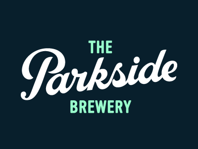 The Parkside Brewery prince brendan logotype logo typography hand-lettering craft beer brewery parkside