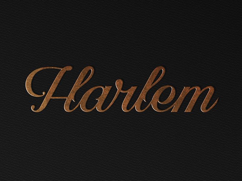 Harlem prince brendan new york script logotype logo lettering typography type wework harlem