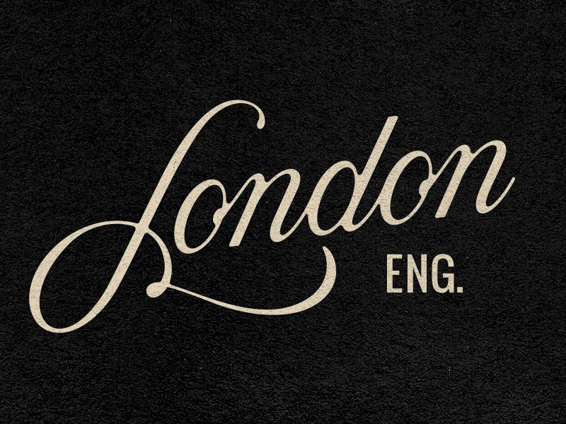 London prince brendan horror script title movie typography type england town london