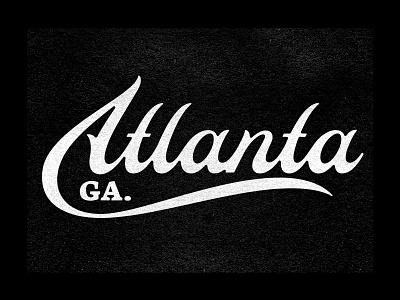 Atlanta prince brendan city logotype logo lettering typography type georgia atlanta