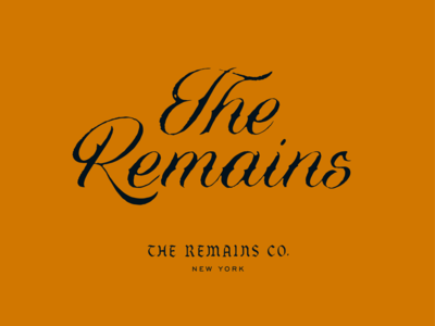 The Remains Co.