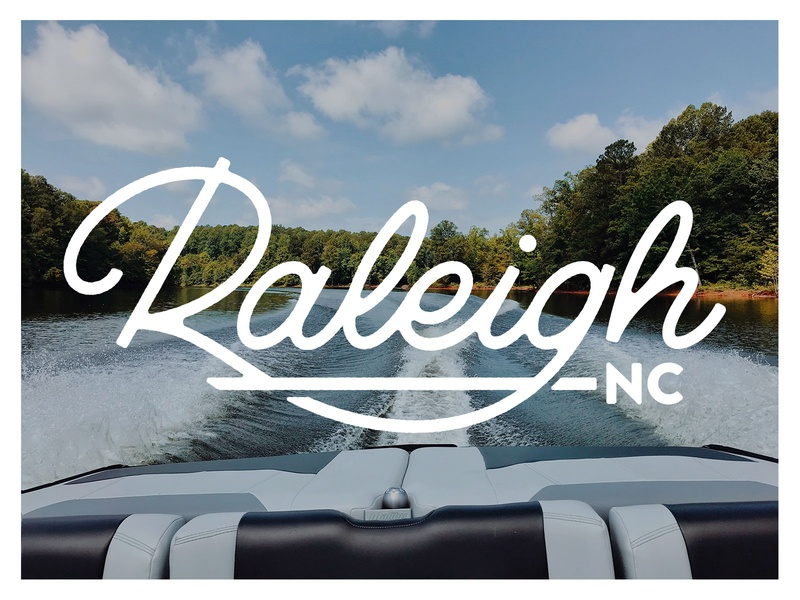 Raleigh typography logotype logo lettering type north carolina raleigh