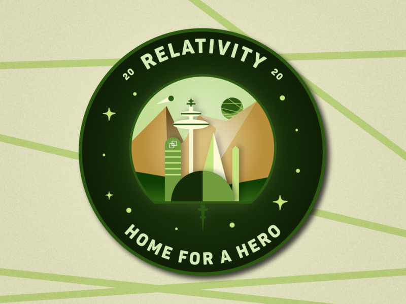 Relativity Home for a Hero Badge
