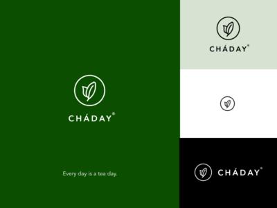 CHÁDAY brand tea identity logo brand design