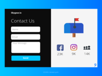 Daily UI - Contact Page