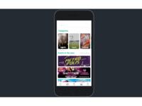 Daily UI -  Mobile Event App