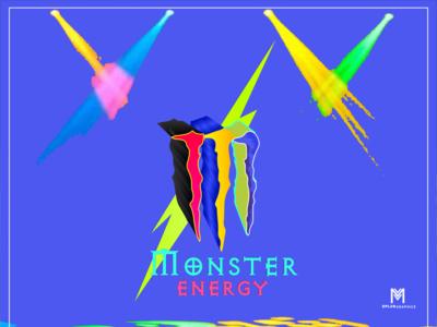 Monster Energy Logo Manipulation