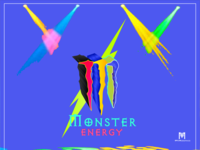 Monster Energy Stained