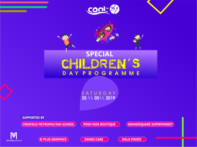 COOL FM Childrens Day Creative