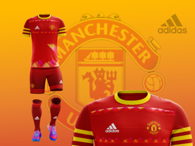 Man United 2021 Home Kit A