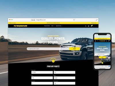 Magnaflow Homepage